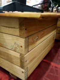 Suport lemn brad