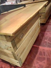 Suport lemn brad inaltime 35 cm