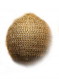 Glob auriu detaliu